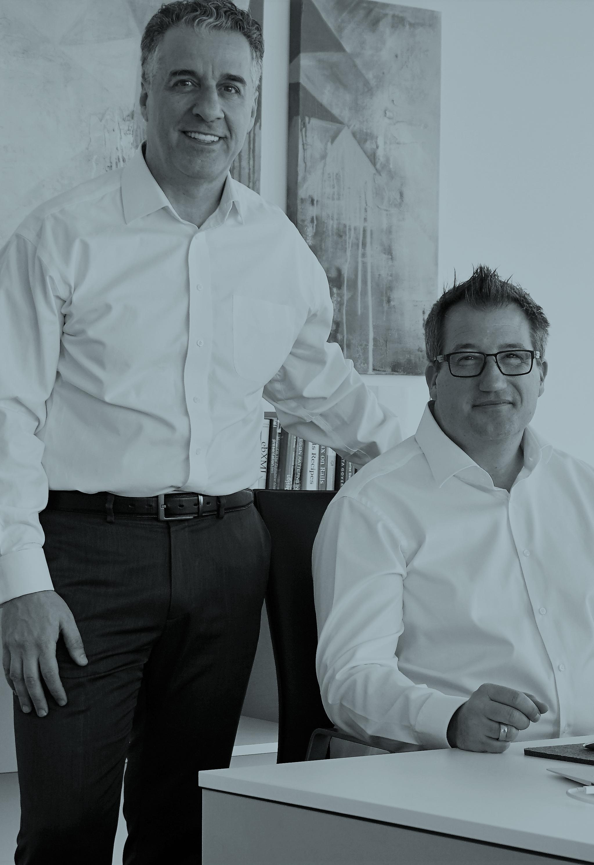 Björn Bayard and Nihat Arkan